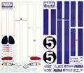 PARMA 1/10 Viper Decal Set 道奇毒蛇廠貼