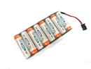 9.6V 2100mah FUTABA 發射機用充電電池(低自放電)