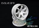 RC-ART EVOLVE GF-R 7爪甩尾輪框(白色 OFFSET=6mm)