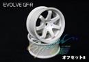 RC-ART EVOLVE GF-R 7爪甩尾輪框(白色 OFFSET=8mm)