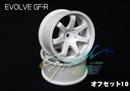 RC-ART EVOLVE GF-R 7爪甩尾輪框(白色 OFFSET=10mm)
