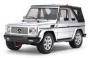 Tamiya 58629 M-Benz 賓士敞篷 G 320 Cabrio 1/10 四驅迷你電動吉普車 (MF-01X)