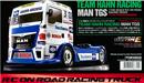TAMIYA 58632 TEAM HAHN RACING MAN TGS 1/14 競速拖車頭套件(TT-01 TYPE-E)