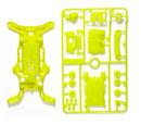 TAMIYA 95202 軌道車用AR底盤(限量螢光黃)